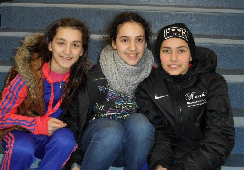 Open International d'Alsace 2014 in Schiltigheim - Melanie Felix, Chamutal Castano und Sebil Kaya