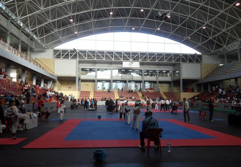 Halle für die Open de Andalucía 2013, Innenraum