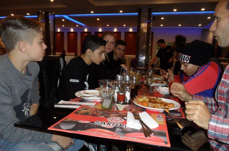 Abendessen in Córdoba