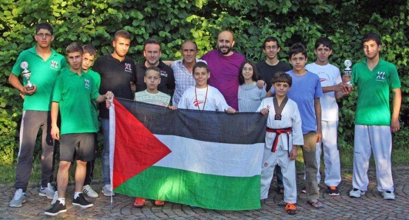 Palästinensische Gäste aus Ostjerusalem beim internationalen Bodensee-Cup in Friedrichshafen