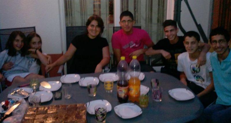 Palästinensische Gäste aus Ostjerusalem bei TKD Özer - Bild 0-34 - Mohammed Joudeh