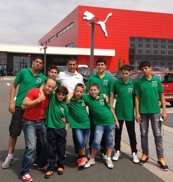 Besuch des Factory-Outlets von Puma