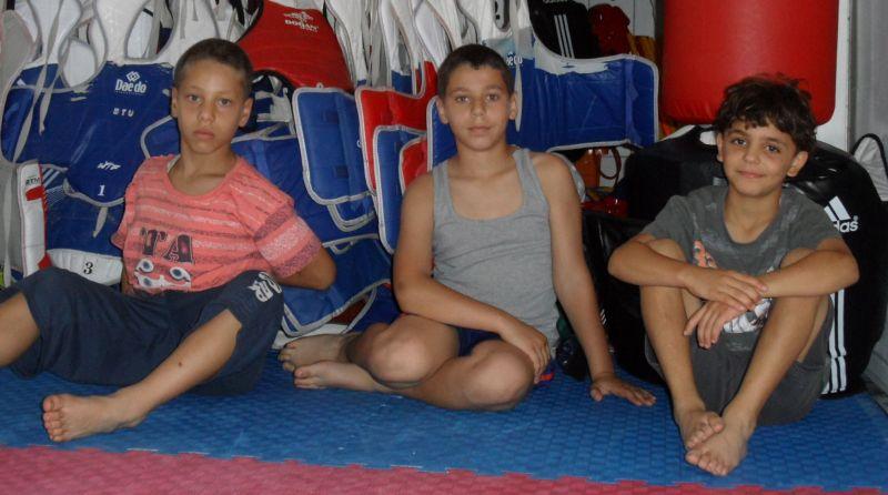 Palästinensische Gäste aus Ostjerusalem bei TKD Özer - Bild 12