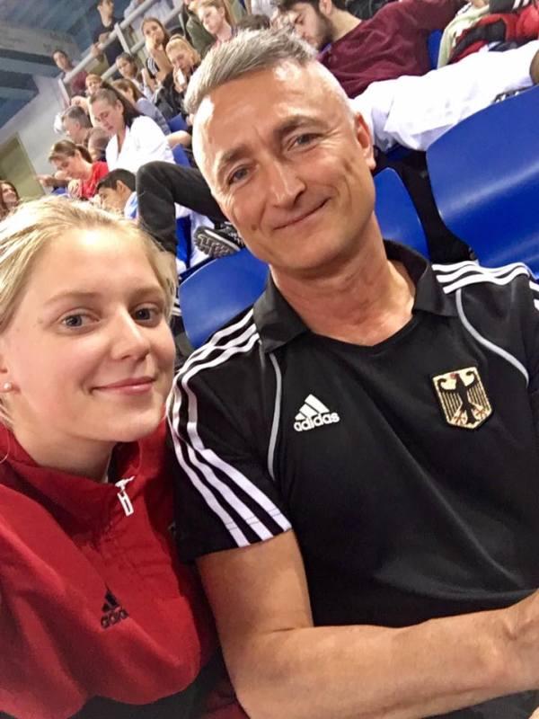 Presidents Cup 2017 in Athen - Anna-Lena Frömming mit Georg Streif