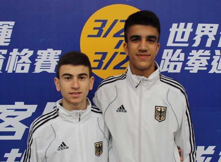 Qualifikationsturnier für die Olympischen Jugend-Spiele 2014 in Taipeh - Daniel Chiovetta und Hamza Adnan Karim