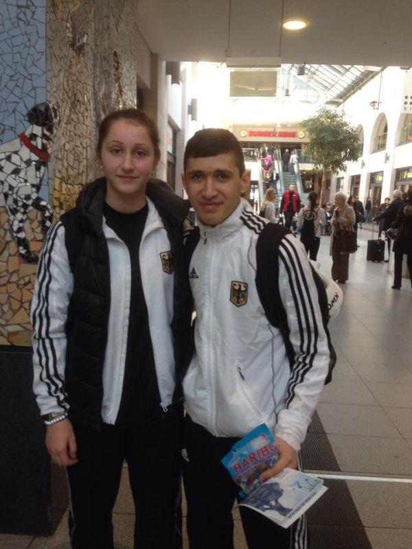 Qualifikationsturnier für die Olympischen Jugend-Spiele 2014 in Taipeh - Ekaterina Derev und Mehmet Yorulmaz