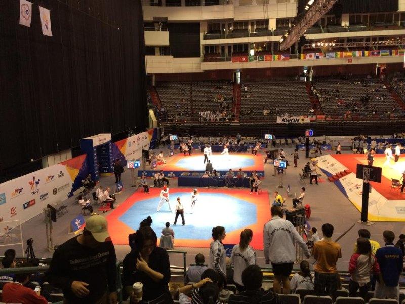 Qualifikationsturnier für die Olympischen Jugend-Spiele 2014 in Taipeh - Hallen-Innenraum