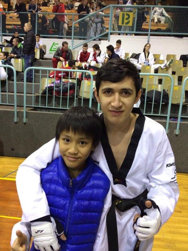 Slovenia Open 2014 in Maribor - Leon Binder und Mehmet Yorulmaz