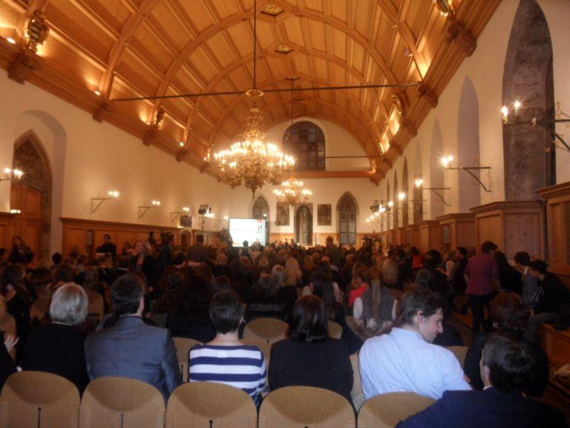 Sportlerehrung der Stadt Nürnberg 2014 - Historischer Rathaussaal