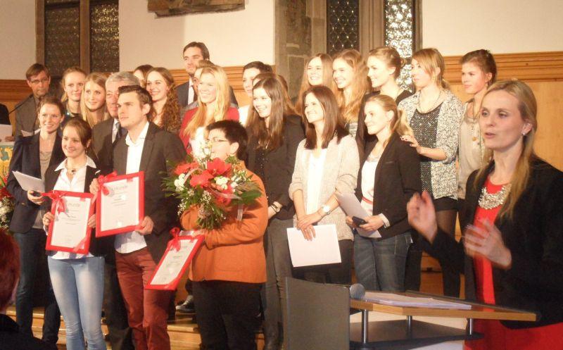 Sportlerehrung der Stadt Nürnberg 2014 - Die Sportler des Jahres