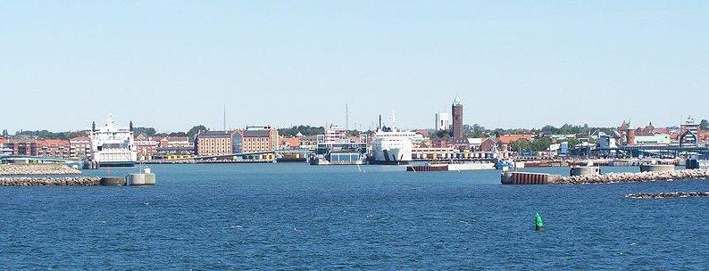 Trelleborg Open 2014 in Trelleborg - Ansicht Hafen