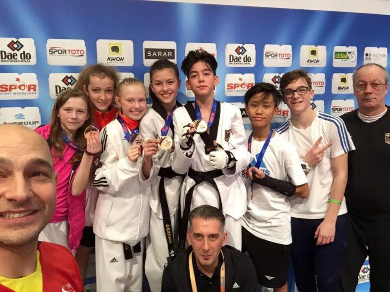 Turkish Open 2016 Belek - Die deutschen Medaillengewinner bei den Kadetten