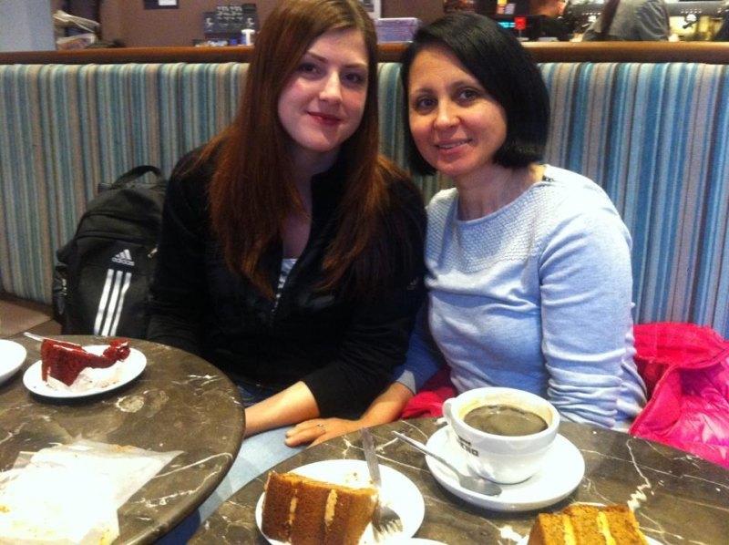 WTF World Grand Prix 2013 in Manchester - Katharina Weiss mit Hayat Gülec