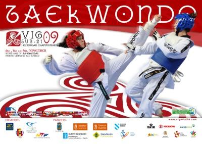 Plakat Europameisterschaft Junioren 2009