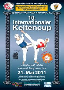 Plakat 10. Internationaler Keltencup 2011