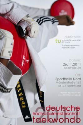 Plakat Deutsche Hochschulmeisterschaft 2011